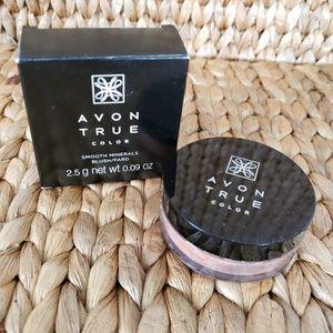 Avon True  smooth minerals Hearty Peach blush
